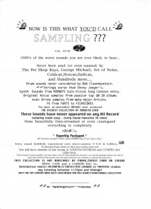 Did you buy these samples?